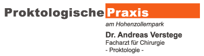 Proktologische Praxis am Hohenzollernpark - Dr. Andreas Verstege